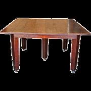 Antique Gustav Stickley Square Table ff599_1