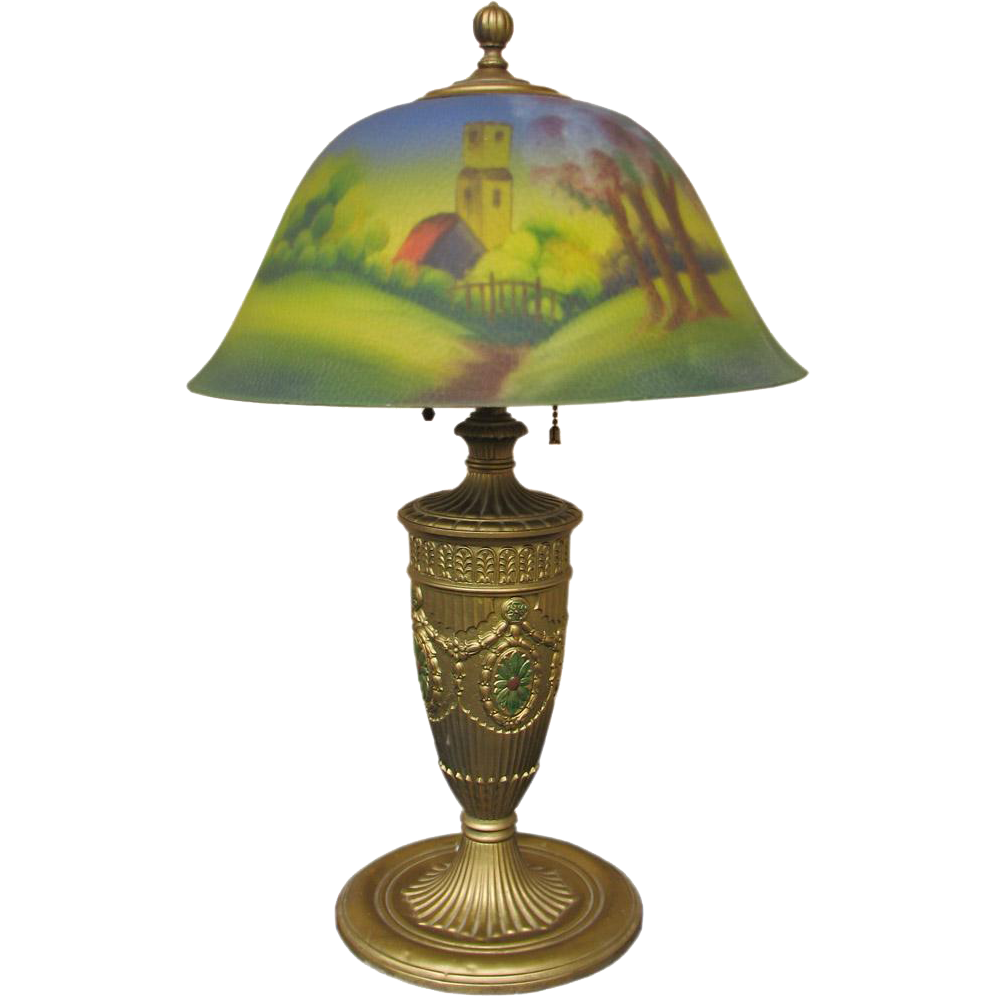 Antique American Phoenix Table Lamp Stickley Era I708 From Antique Mission Furniture On Ruby Lane