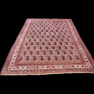 Superb Antique Persian Lavar Kerman Rug  r8355