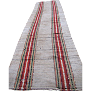 Vintage Amish Rag Rug   rr1514