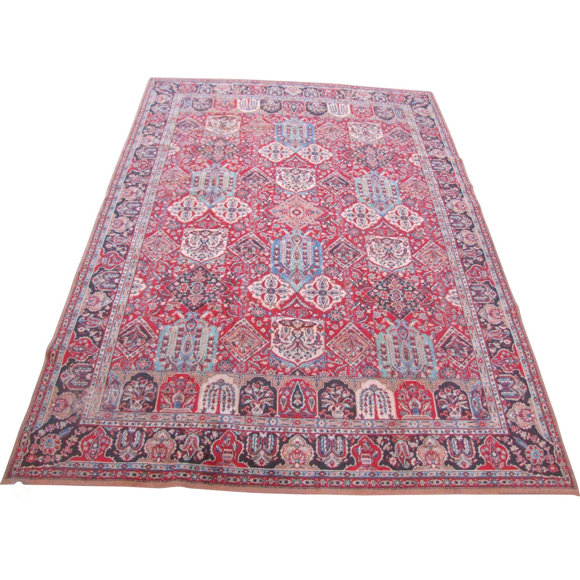 Vintage American Wilton Oriental Rug 107 Quot By 147 Quot Rr1645