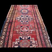 Antique North West Persian Oriental Runner Rug  rr2451