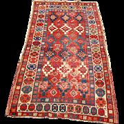 Antique Caucasian Oriental Rug  rr2644