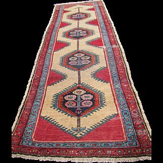 Antique Great Persian Serab Runner Rug rr2792