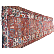 Superb Antique Caucasian Oriental Runner Rug  rr2837