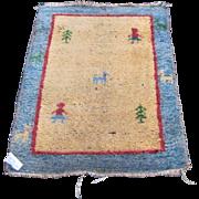 Vintage Handmade Oriental Rug  rr2876   FREE SHIPPING