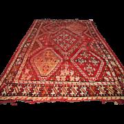 Antique Afghan Oriental Rug  rr2886 - Red Tag Sale Item