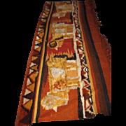 Handmade Oriental Rug Tapestry  rr2928