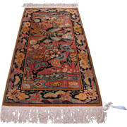 Antique Anglo-Persian Oriental Rug  rr2944