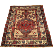 Antique Oriental Rug 4x3   rr3014