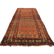 Antique Persian Oriental Rug  rr3033 - Red Tag Sale Item