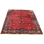 Antique Persian Lilihan Oriental Rug  rr3358