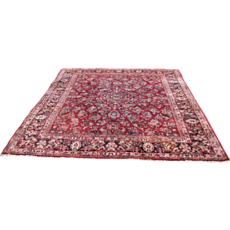 Antique Persian Sarough Oriental Rug rr3386  (Perfect Condition!!!) Free Shipping