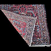 Vintage Persian Hamadan Oriental Rug  rr3393