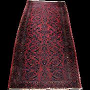 Great Antique Persian Kashan Oriental Runner Rug  rr3402