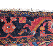 Antique Persian Lilihan Oriental Rug  rr360