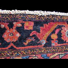 Antique Persian Lilihan Oriental Rug  rr360
