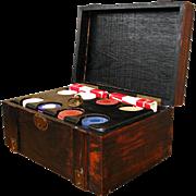 Arts & Crafts Poker Set  w1437