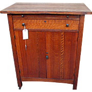 Superb & Rare Antique Limbert Small Cabinet/Cellarette w1797
