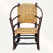 Antique Old Hickory Rocking Chair  w2240