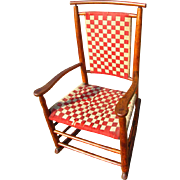 Antique Small Shaker Rocking Chair  w2331