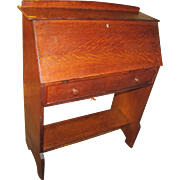 "Antique ""L&jG Stickley"" Drop Front Desk  w2546"