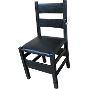 Antique Rare Gustav Stickley Chair  w2778