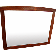 Antique Gustav Stickley Wall Mirror  w2780