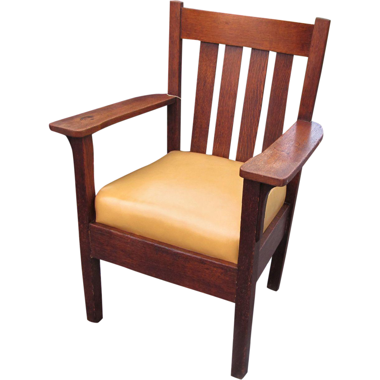 Antique  Ritter Craft  Arm Chair w279 from antique mission furniture on  Ruby Lane. Antique  Ritter Craft  Arm Chair w279 from antique mission