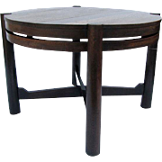 Antique Gustav Stickley Table (Tobey Chicago) w3145