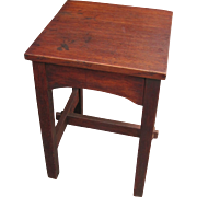 Superb Antique Early Gustav Stickley Stand  w3305