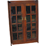 Early Gustav Stickley Circa 1902 Good Bookcase In Excellent Condition  w3977
