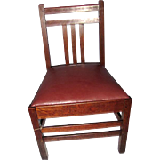 Great Looking Antique Limbert Child Chair  w3997