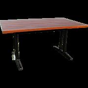Mid-Century Modern Table  w4000