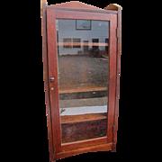 Antique Arts And Crafts One Door Bookcase  w4047