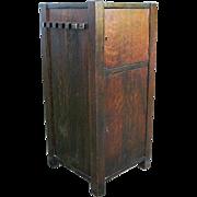 Antique Arts & Crafts Cellarette  w484