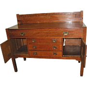 Antique Stickley Brothers Sideboard  w4956