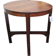 Early Gustav Stickley Table from 1904 with Eastwood Paper Label w4991