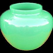 Vintage Steuben Jade Green Art Glass Bowl  w5033