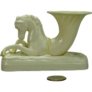 Belleek Seahorse Green Mark