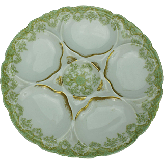 Theodore Haviland Limoges Oyster Plate