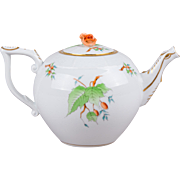 Herend Rosehip Pattern Teapot