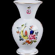 Herend Bouquet de Fruit Pattern Vase
