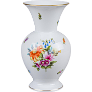 Herend Bouquet of Flowers Pattern Vase