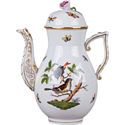 Herend Rothschild Bird XLarge Teapot