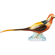 Herend Golden Pheasant Figurine with Natural Painting