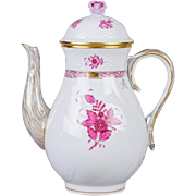 Herend Chinese Bouquet Raspberry Large Teapot