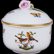 Herend Rothschild Bird Sugar Bowl