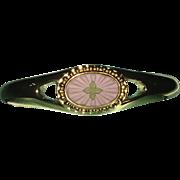 Wedgewood Gold Tone Cuff Bracelet