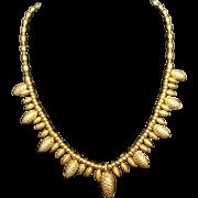 Dexter Wilson pine cone necklace